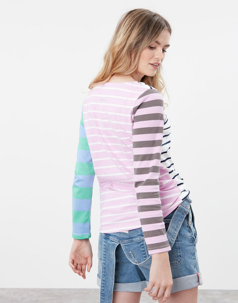 Harbour Hotch Potch Striped Long Sleeve Jersey Top