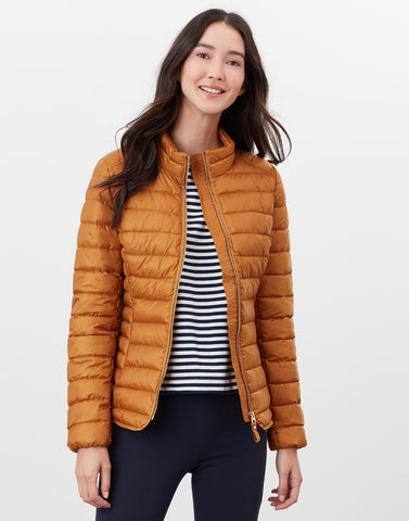 Canterbury Short Padded Jacket in Golden