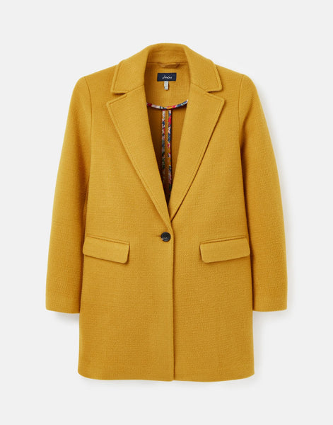 Eve Wool Coat in Caramel
