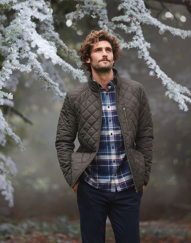 Derwent Quilted Jacket Dark Pine