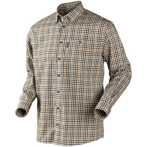 Harkila Milford Shirt - Orange Check