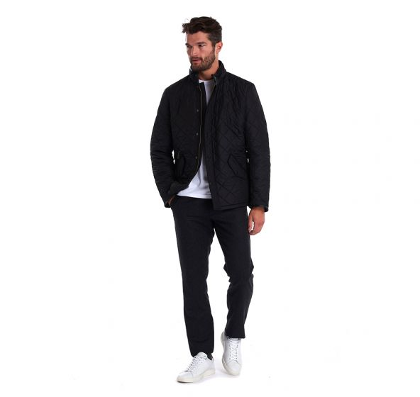 Powell Quilted Black Jacket