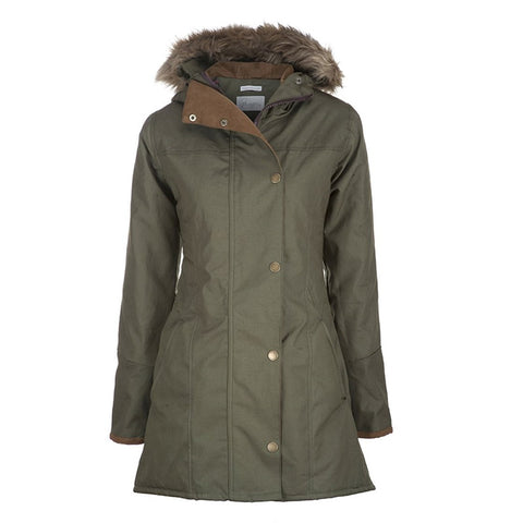 Hooded Claudia Jacket - Khaki