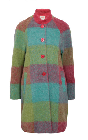 Checkers Coat - Multi