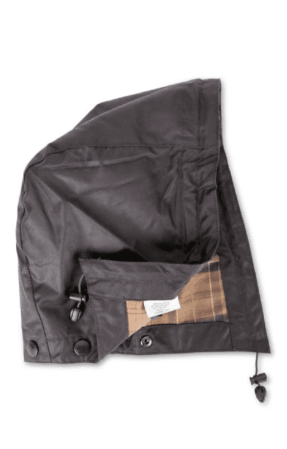 Waxed Sylkoil Cotton Hood - Rustic