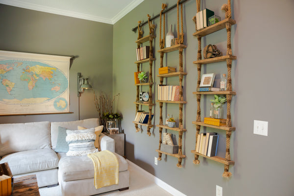 Creating A Unique Feature In Your Home By Using Repurposed Ship Ladders