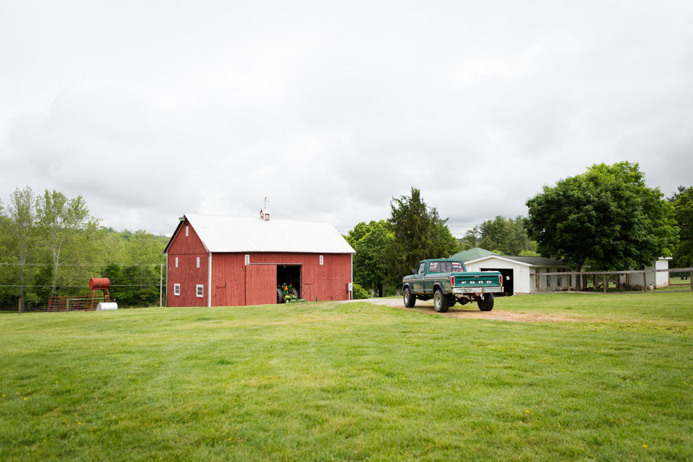 Riverview Farm barn