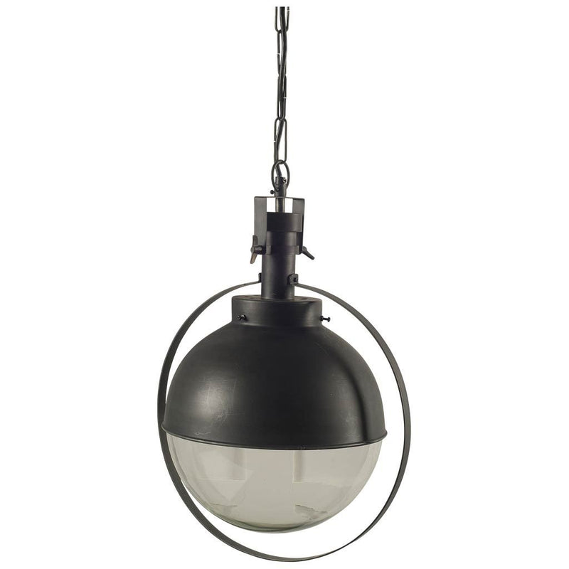 BLACK/GLASS GLOBE