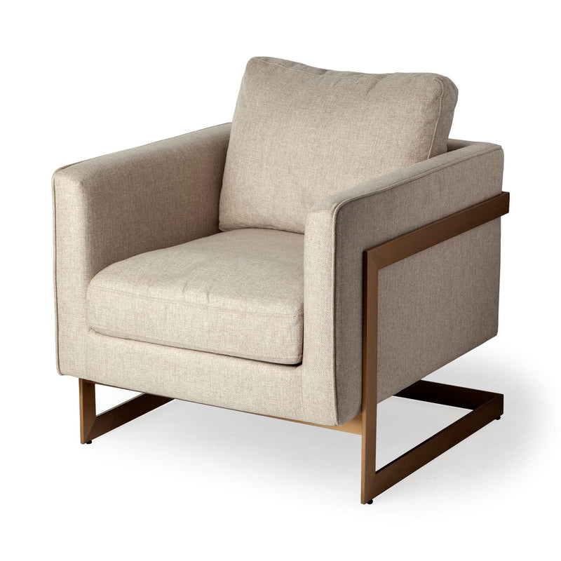 Rupert Cream Accent Chair
