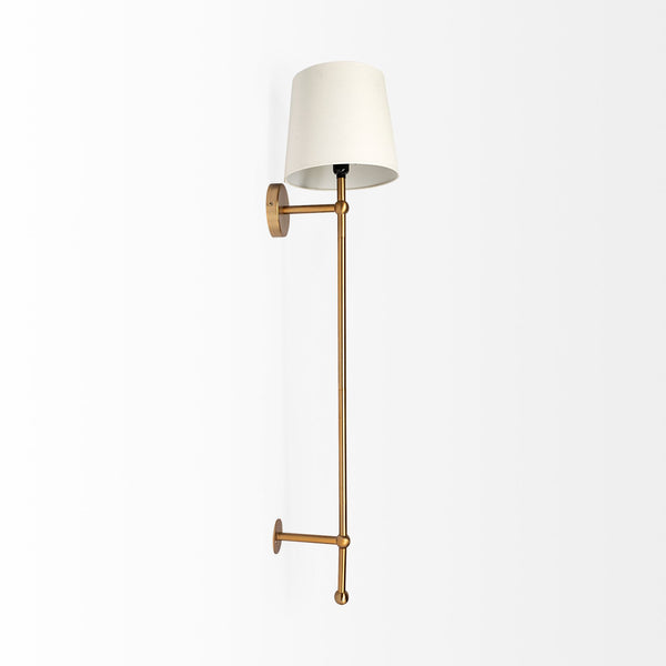 Chester Brass Wall Sconce