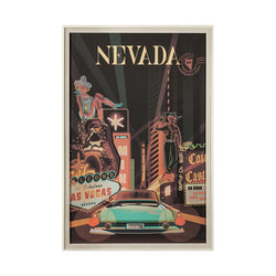 Nevada Go Framed Art