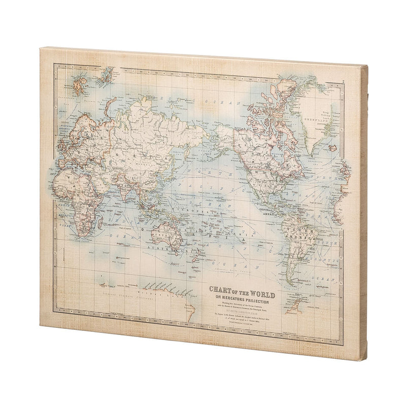 CANVAS - Chart of the World Large