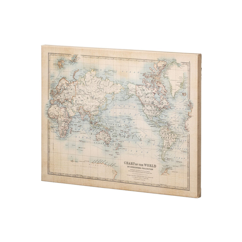 CANVAS - Chart of the World Small