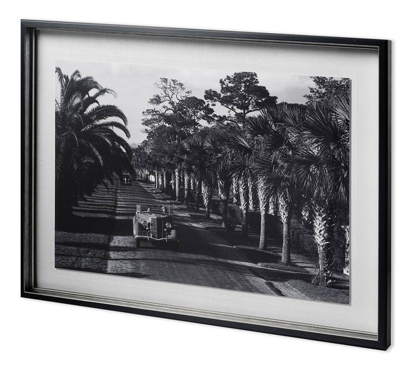 On The Avenue Framed Art