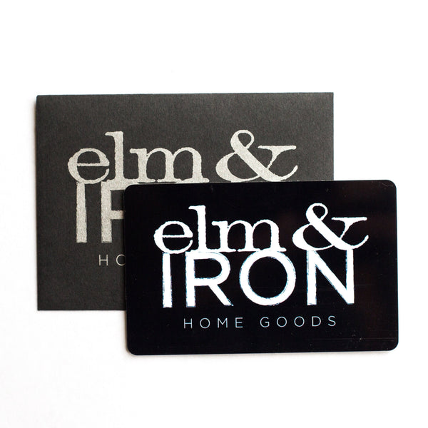 Elm & Iron Gift Card