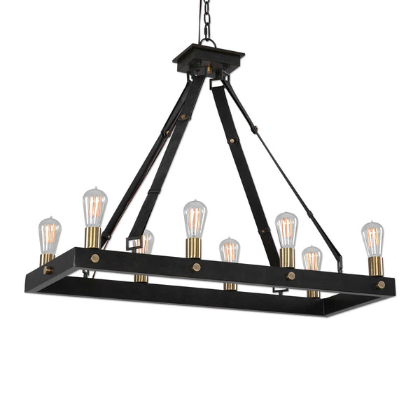 MARLOW RECTANGLE CHANDELIER