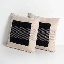 Saba Black Pillow