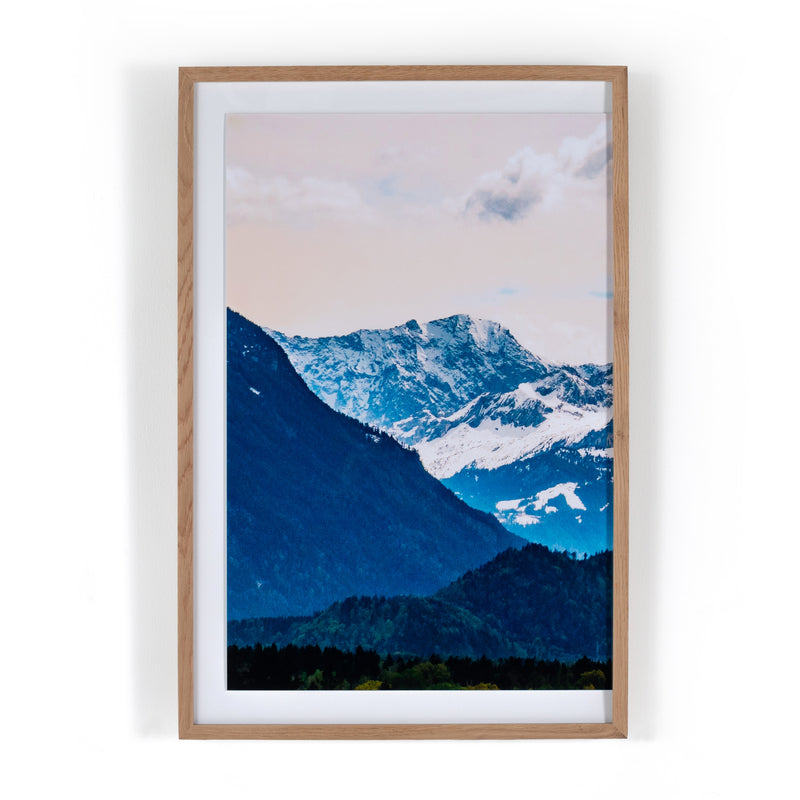 Zugspitze Mountain Triptych By Teague Studio