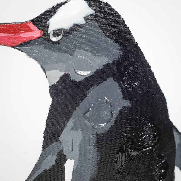 Morgans Penguin Canvas Art
