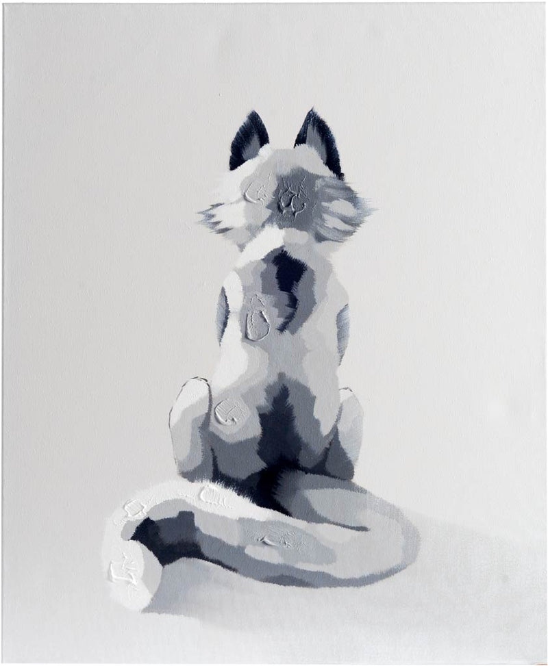 Owen Solitary Fox Canvas Art