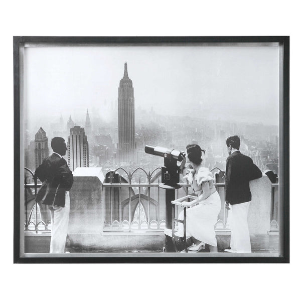 Manhattan View Framed Print