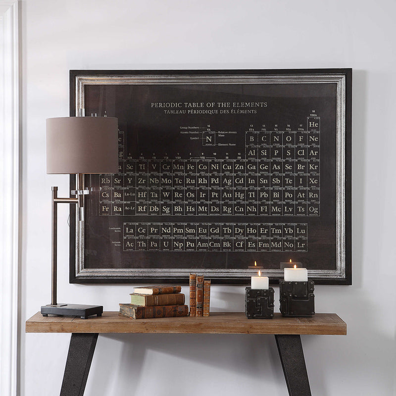 Periodic Table Framed Print