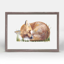 Woodland Fox Mini Canvas