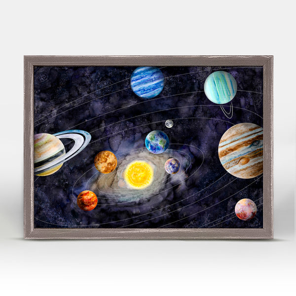 Solar System Mini Canvas