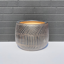Reactive Glaze Planter