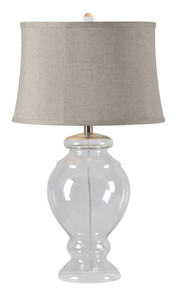 LEAH GLASS TABLE LAMP
