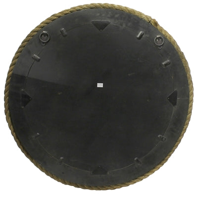 Round Bridgeport Rope Mirror