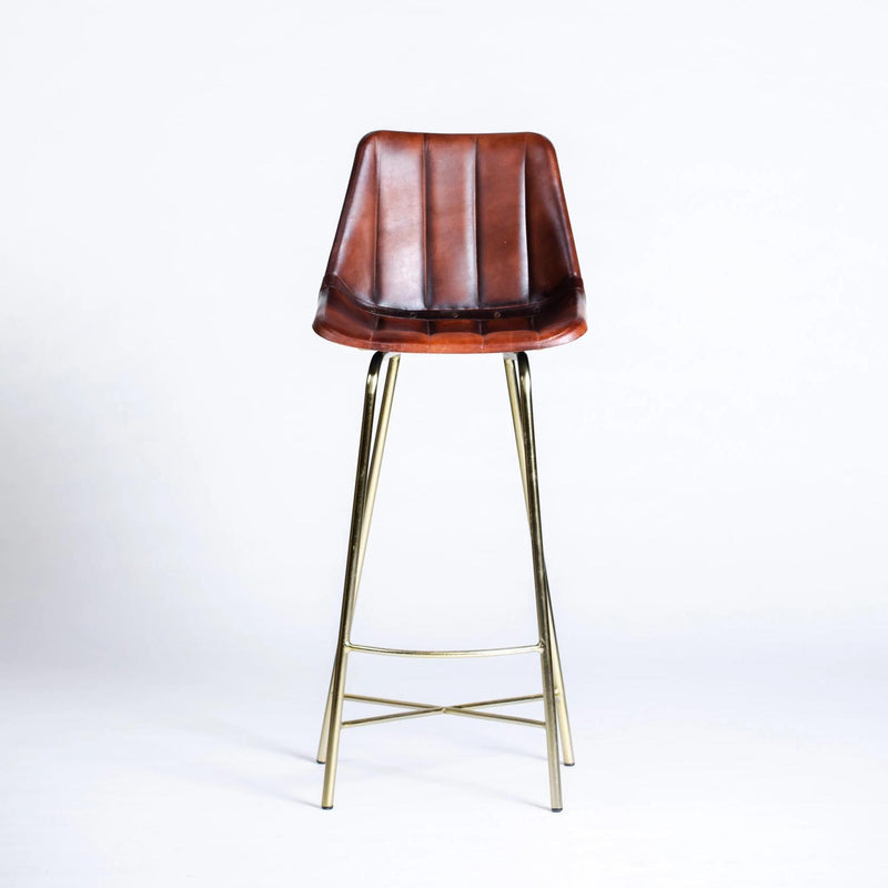 Bar: Shined Brown Leather
