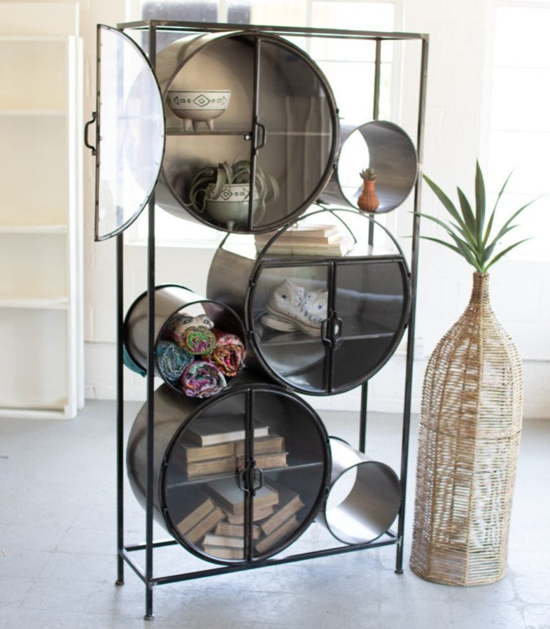 Circles Shelving Unit