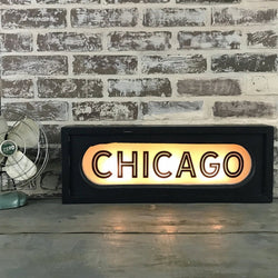 Chicago Lighted Sign
