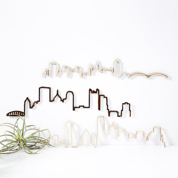 CLEVELAND FLOATING SKYLINE 24""