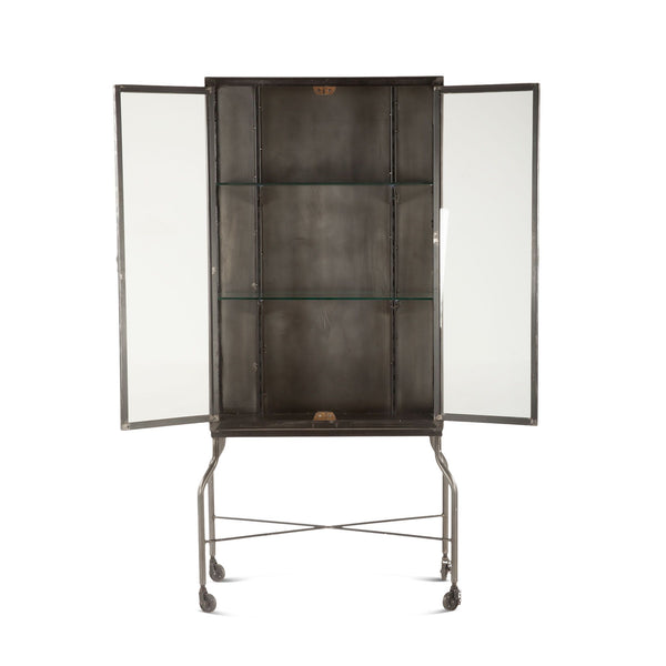 Baltimore Iron & Glass Cabinet