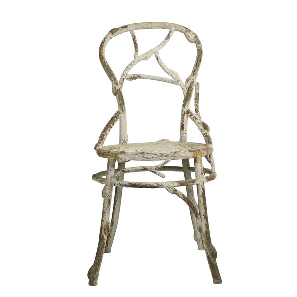 Faux Bois Dining Chair