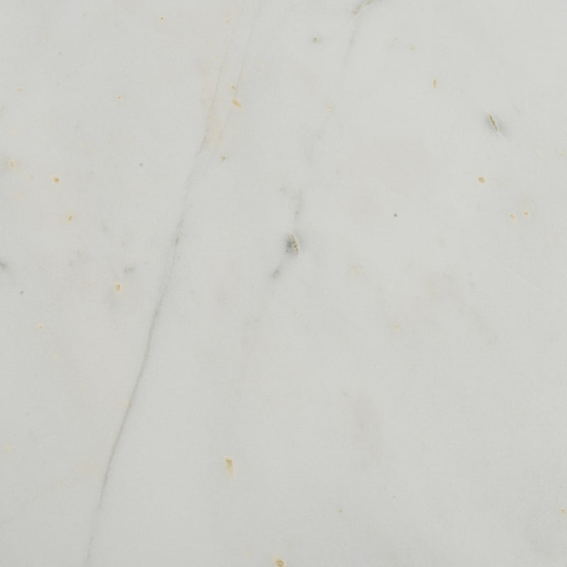 White Marble / Raw Brass