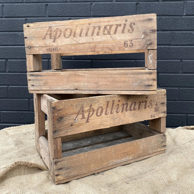 Apollinaris Crate