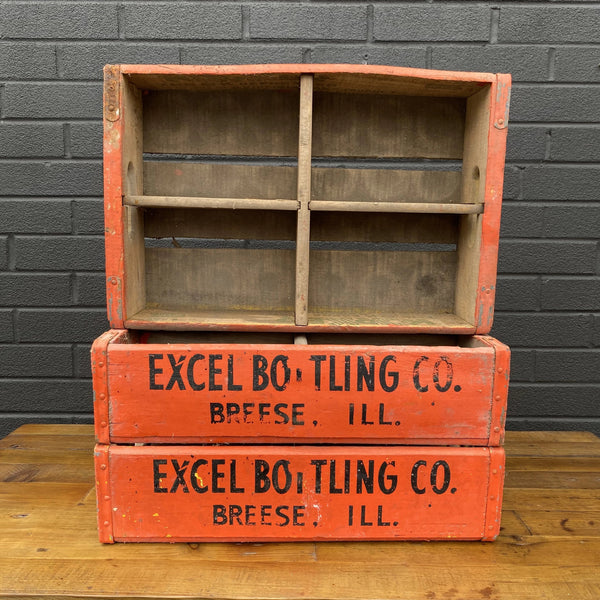 Excel Bottling Co. Crate