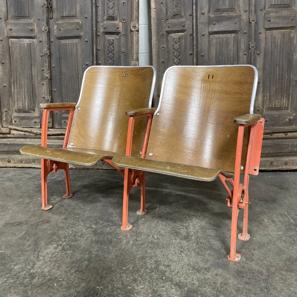 Orange Theater Seats