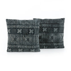 Mud Cloth Print Pillow