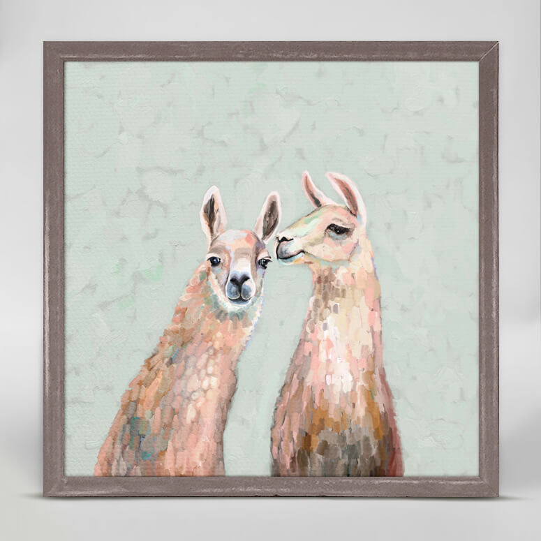 Llamas Secrets Mini Canvas