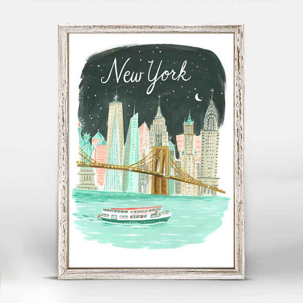 New York Mini Canvas