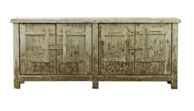 Salvaged Door Buffet
