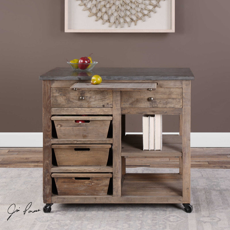 Braylon Kitchen Island