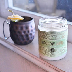 Moscow Mule Cocktail Candle