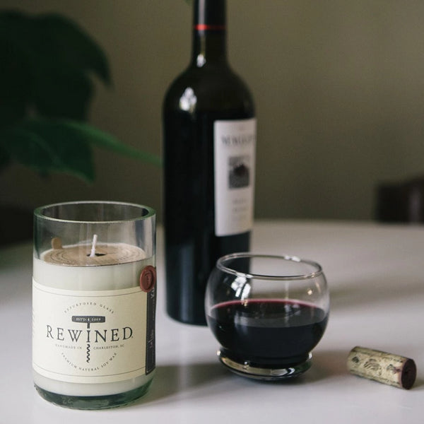 Zinfandel Rewined Candle