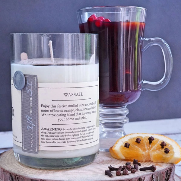 Wassail Rewined Candle