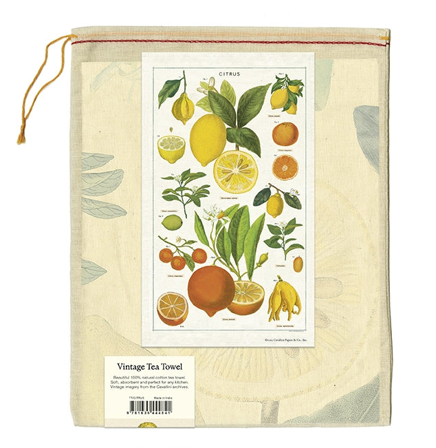 Cavallini Tea Towel